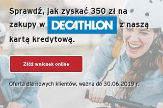 Citi Handlowy Karta kredytowa i do 400 zł do Decathlon