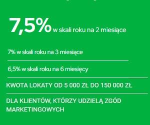 Getin Bank Lokata na NOWE ŚRODKI