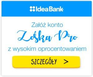 Konto ZOŚKA PRO Idea Bank