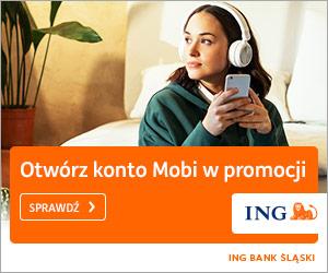 ING Bank Śląski Konto MOBI z premią