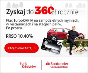 TURBO karta kredytowa Santander