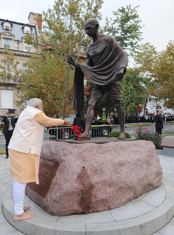 Narendra Modi's Paradoxical Claim on the Legacy of Gandhi