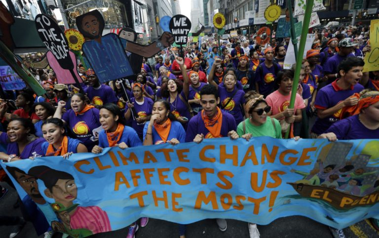 Youth March for Climate Justice in Brussels