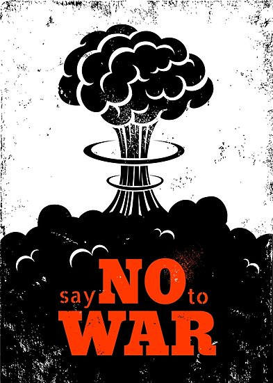 'NO to War': Appeal to Maintain Peace