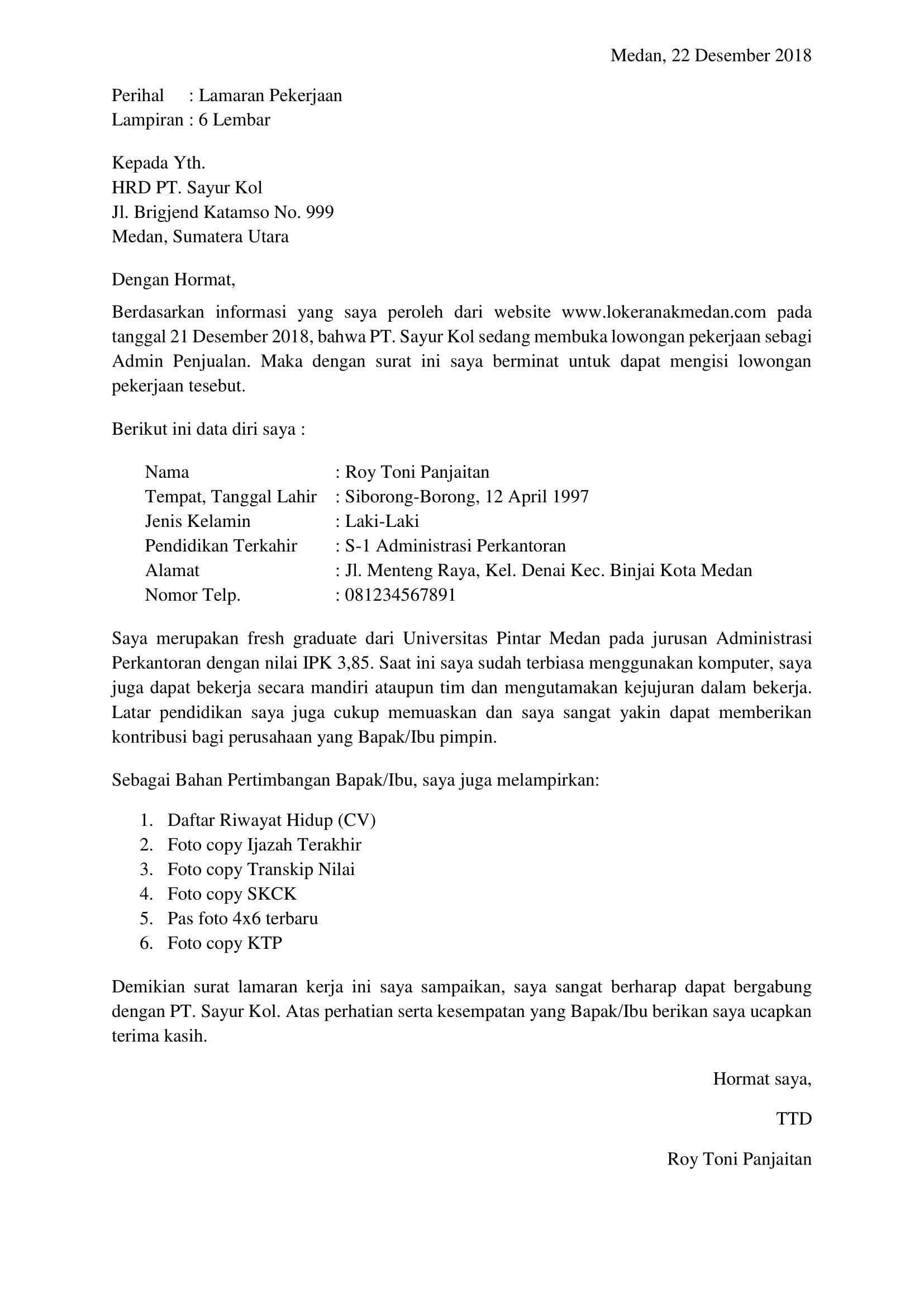 Surat Lamaran Kerja Fresh Graduate : surat, lamaran, kerja, fresh, graduate, Membuat, Surat, Lamaran, Kerja, Untuk, Lulusan, Fresh, Graduate, Loker, Medan
