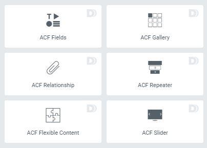 Dynamic.ooo ACF Widgets