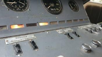 Förarbord modell 50-tal.