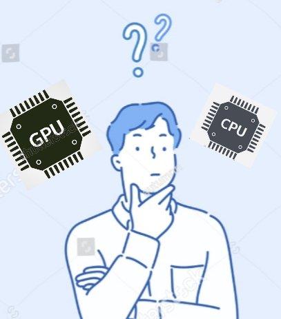GPU vs CPU.