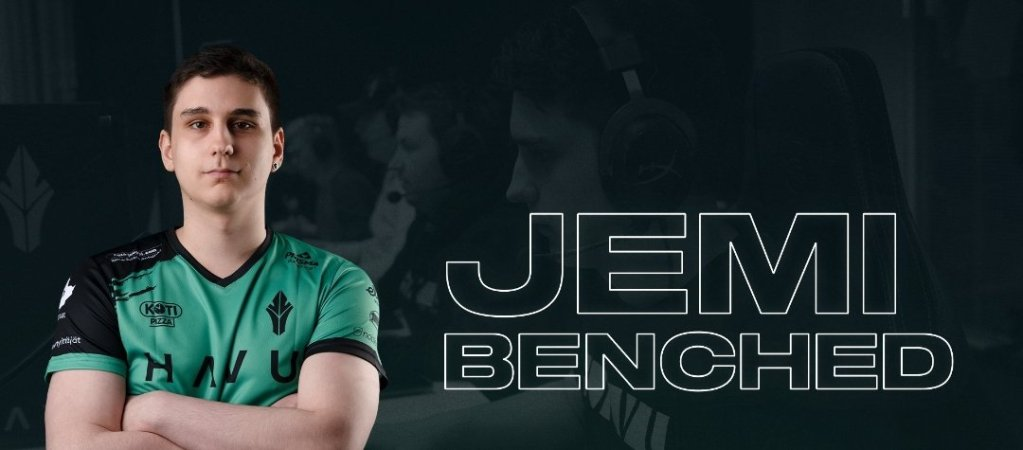 Jemi gets benched by HAVU