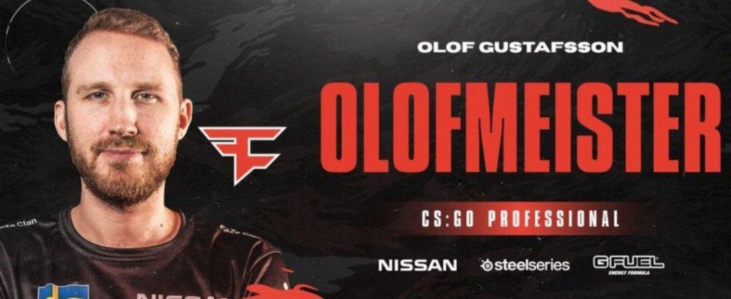 olofmeister returns in FaZe lineup