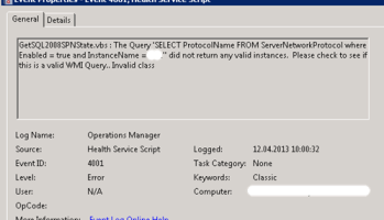 The system event log is bloated with WMI Performance Adapter