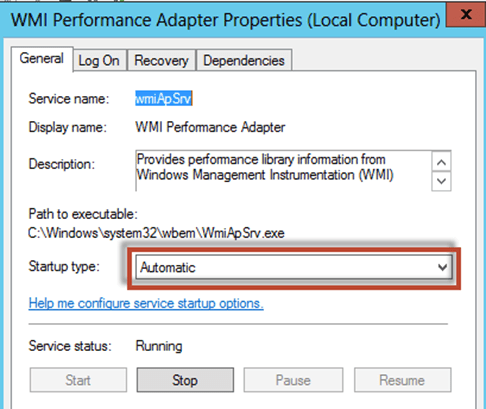 windows 7 wmi service not running