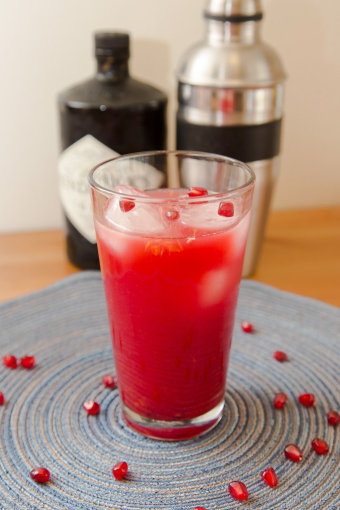 Pomegranate Gin Cocktail