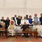 Cabinet expansion: 15 ministers sworn in, Captain skips event