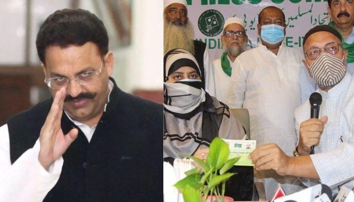 माफिया डॉन अतीक अहमद को शामिल करने के बाद मुख्तार अंसारी के खिलाफ उम्मीदवार नहीं उतारेगी एआईएमआईएम