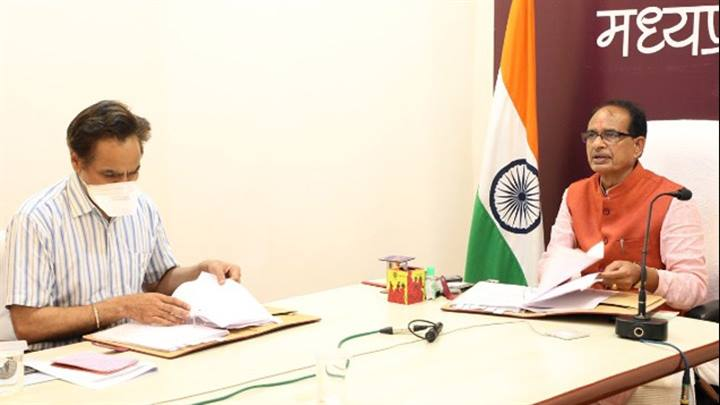 मुख्यमंत्री श्री चौहान की अध्यक्षता में  मंत्रि-परिषद की बैठक