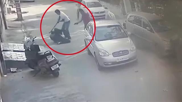 Caught on camera: Man shot dead in Bathinda