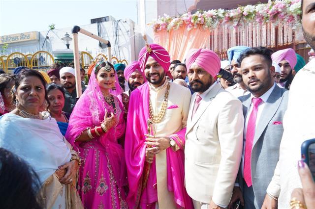 Punjab CM Charanjit Channi's son gets married; Navjot Singh Sidhu gives it a miss