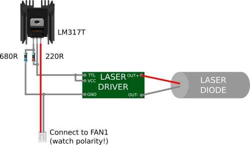 small resolution of note the laser driver i use has a ttl control pin but i don t use it it must be connected to vcc when unused