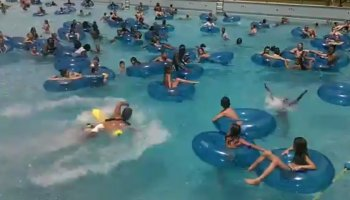 Rápida intervenção de nadador-salvador salva criança