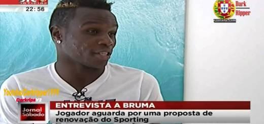 Bruma dá entrevista surreal sobre o Sporting