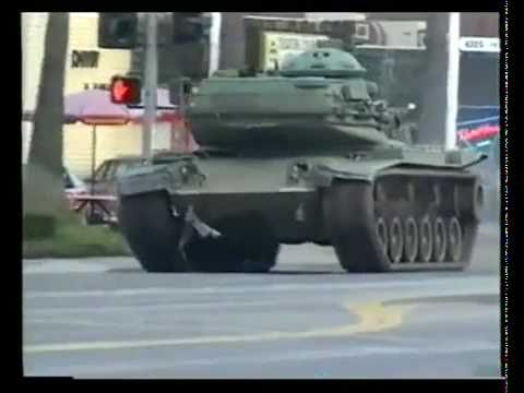 Roubou um tanque de guerra e jogou GTA na realidade!