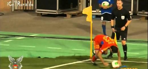 Jogador da Arménia cobra o pior canto da história do futebol