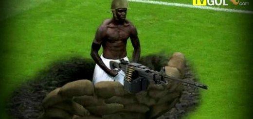 Vamos lá ver os momentos mais cómicos do futebol em 2012