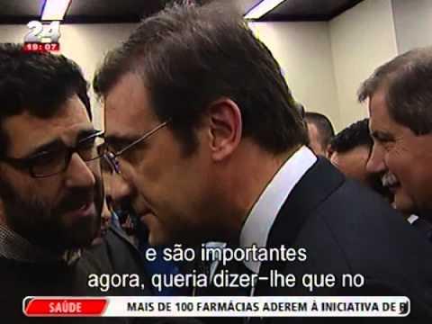 Militante do PSD desafia Passos Coelho