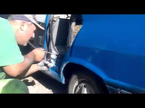 Como pintar um carro com a boca