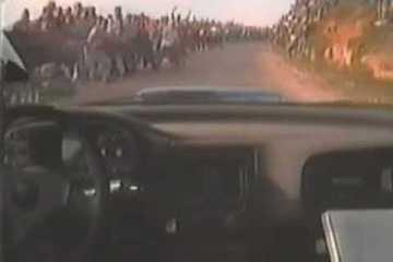 Colin McRae - WRC Portugal 1997 - Espectadores loucos