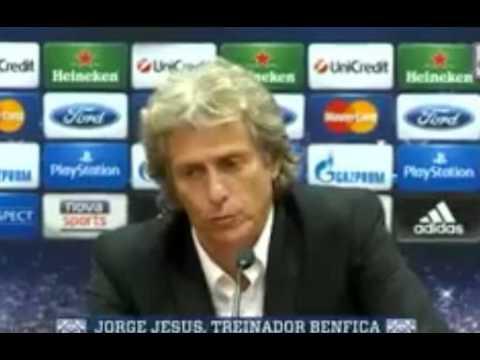 Jorge Jesus dá novo nome à capital da Grécia Antenas em vez de Atenas