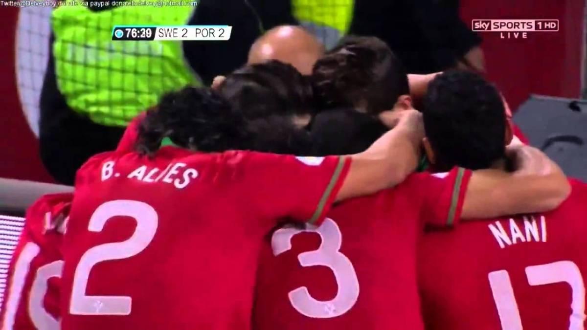 Zlantan Ibrahimovic aplaude hat-trick de Ronaldo