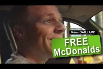 Como comer no Mac à borla