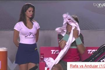 Ninguém consegue desconcentrar Rafael Nadal