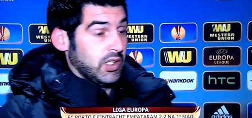 Paulo Fonseca continua confuso desta pensa que ainda está na Champions