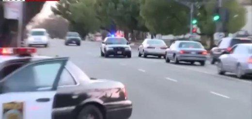 Tentativa de fuga de bicicleta à polícia