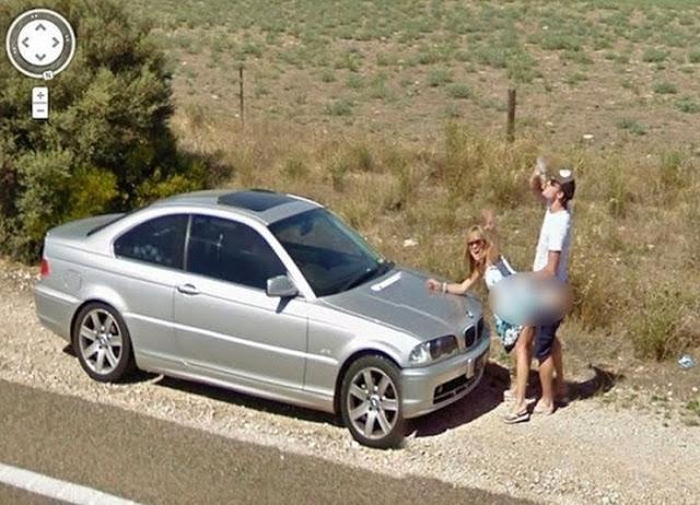 Flagras do Google Street View que ainda não viste
