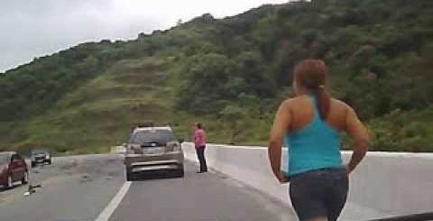 Condutor filma acidente brutal no Brasil