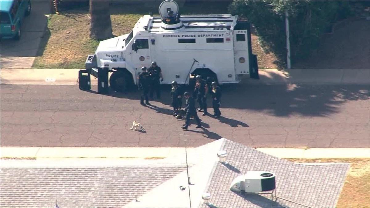Pequeno cão mostra que não tem medo de uma equipa SWAT