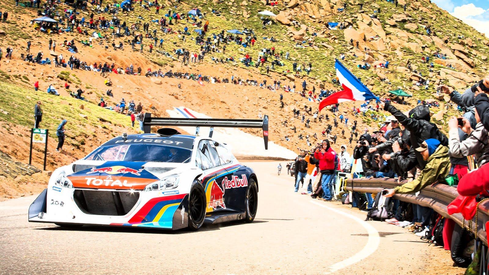 Sebastien Loeb bateu o recorde de famosa subida de Pikes Peak