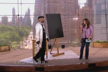 Pintor surpreende em actuação inteligente