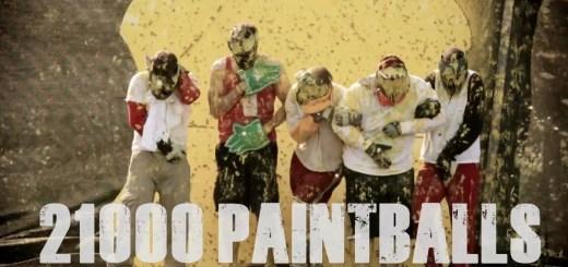 Fuzilamento com bolas de paintball
