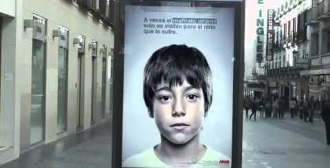 Mensagem secreta que só as crianças conseguem ver
