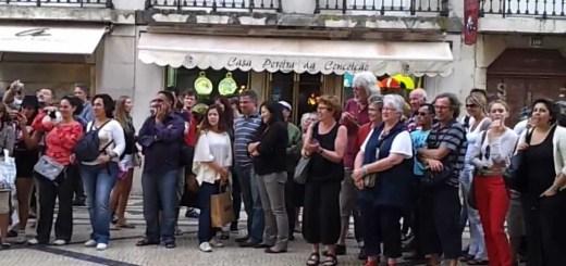 Grande som na baixa de Lisboa