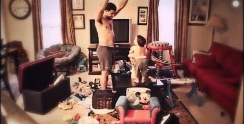 Câmara capta tarde bem passada entre pai e filho