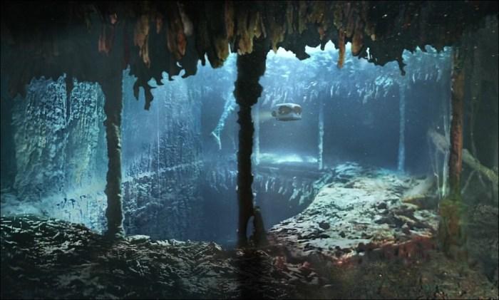 RMS Titanic escadaria