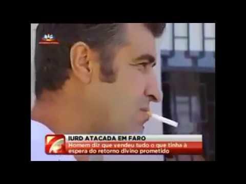 português destrói instalações da IURD