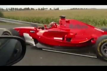 Fórmula 1 na autoestrada