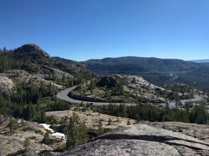 View of Donner Summit